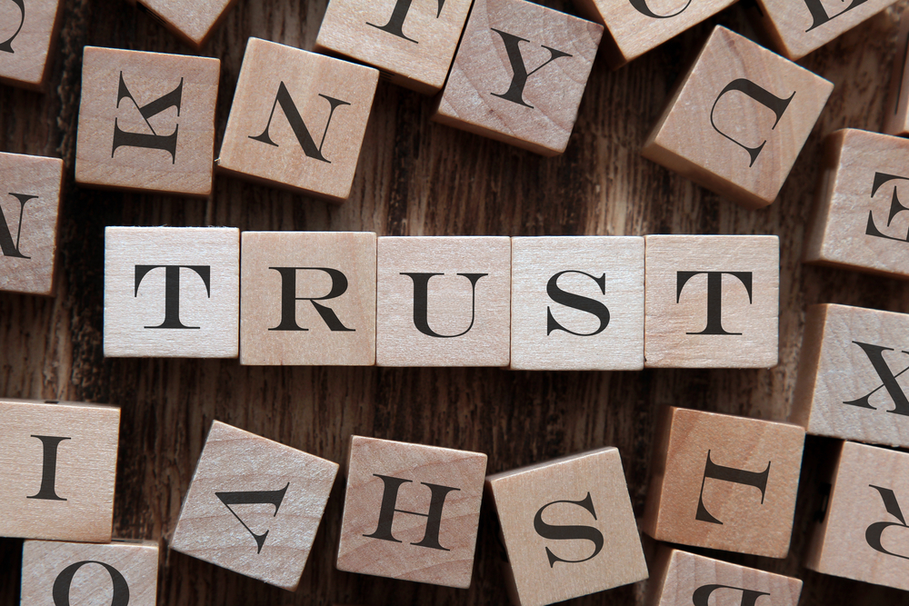 How can businesses maintain data ethics and build digital trust?