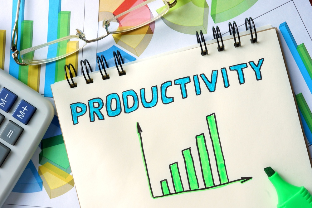 Increasing productivity seems to be on the minds of most CFOs