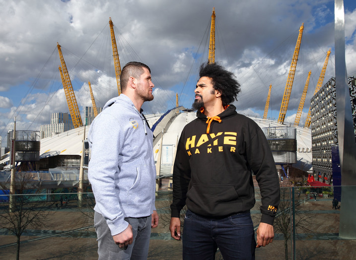 Entrepreneurs are more like heavyweight boxer David Haye than they know