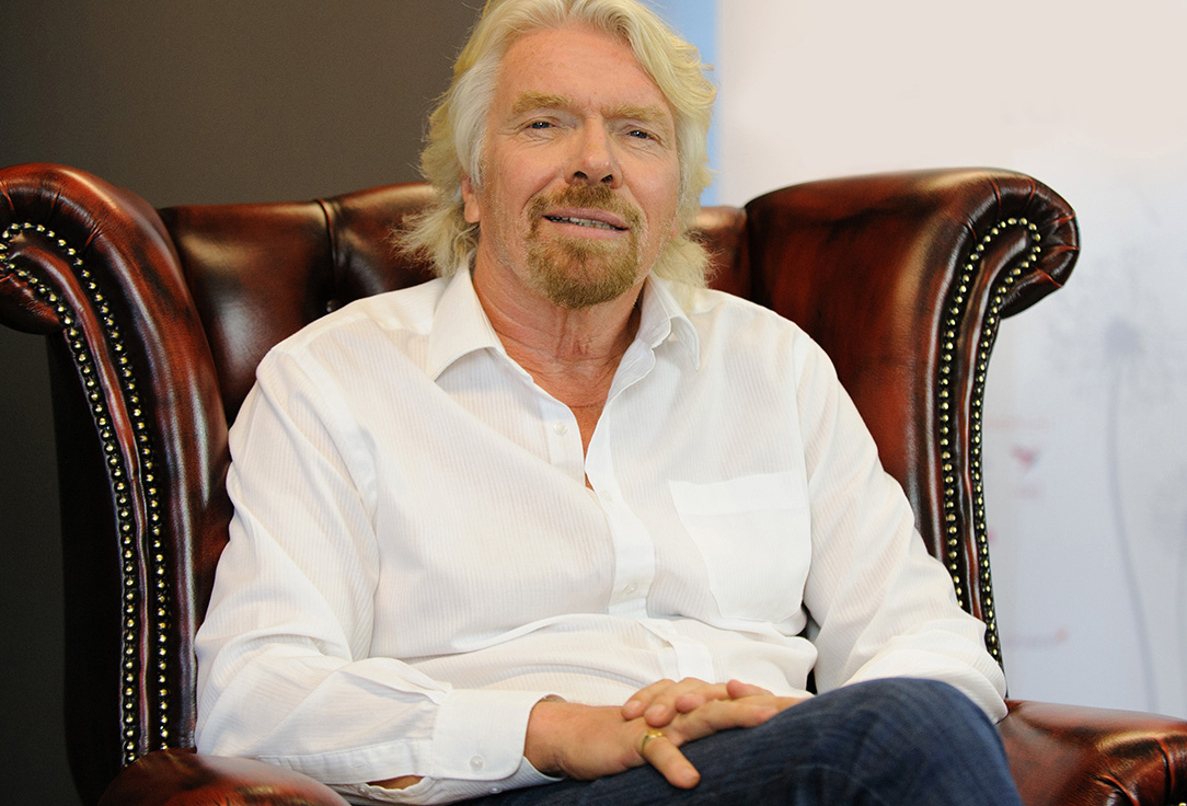 What do you get when you mix a supermodel, underwear expert and a YouTuber? Richard Branson recruits