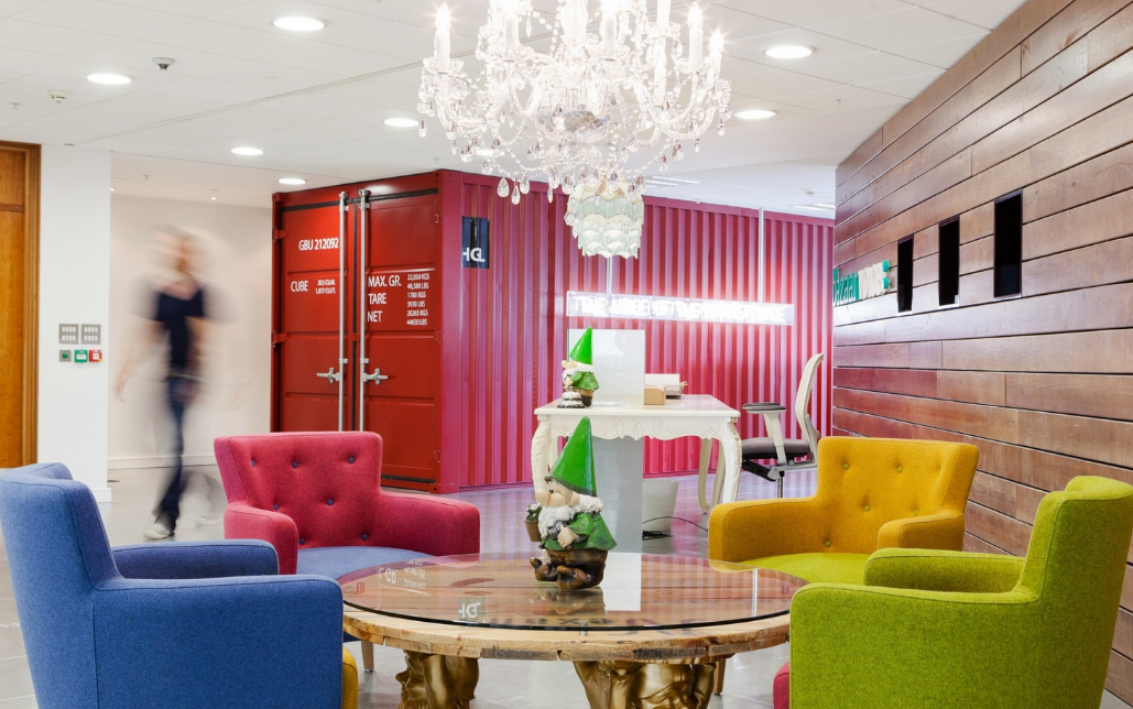 The seven colours that can have an impact on workplace creativity