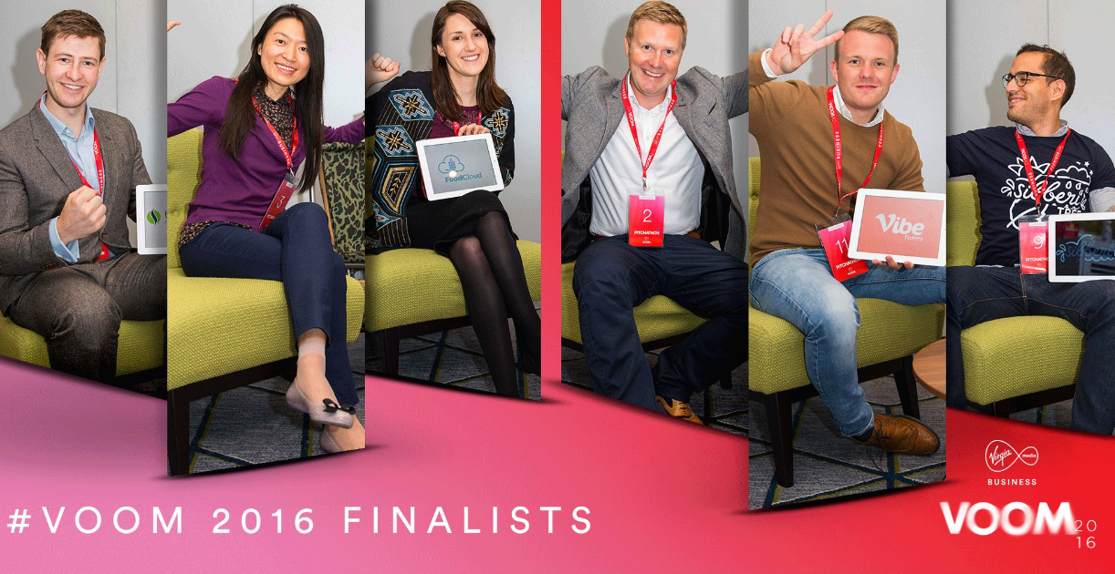 From 3,000 entrants, six SMEs chosen to pitch to Richard Branson at ?1m VOOM 2016 finale