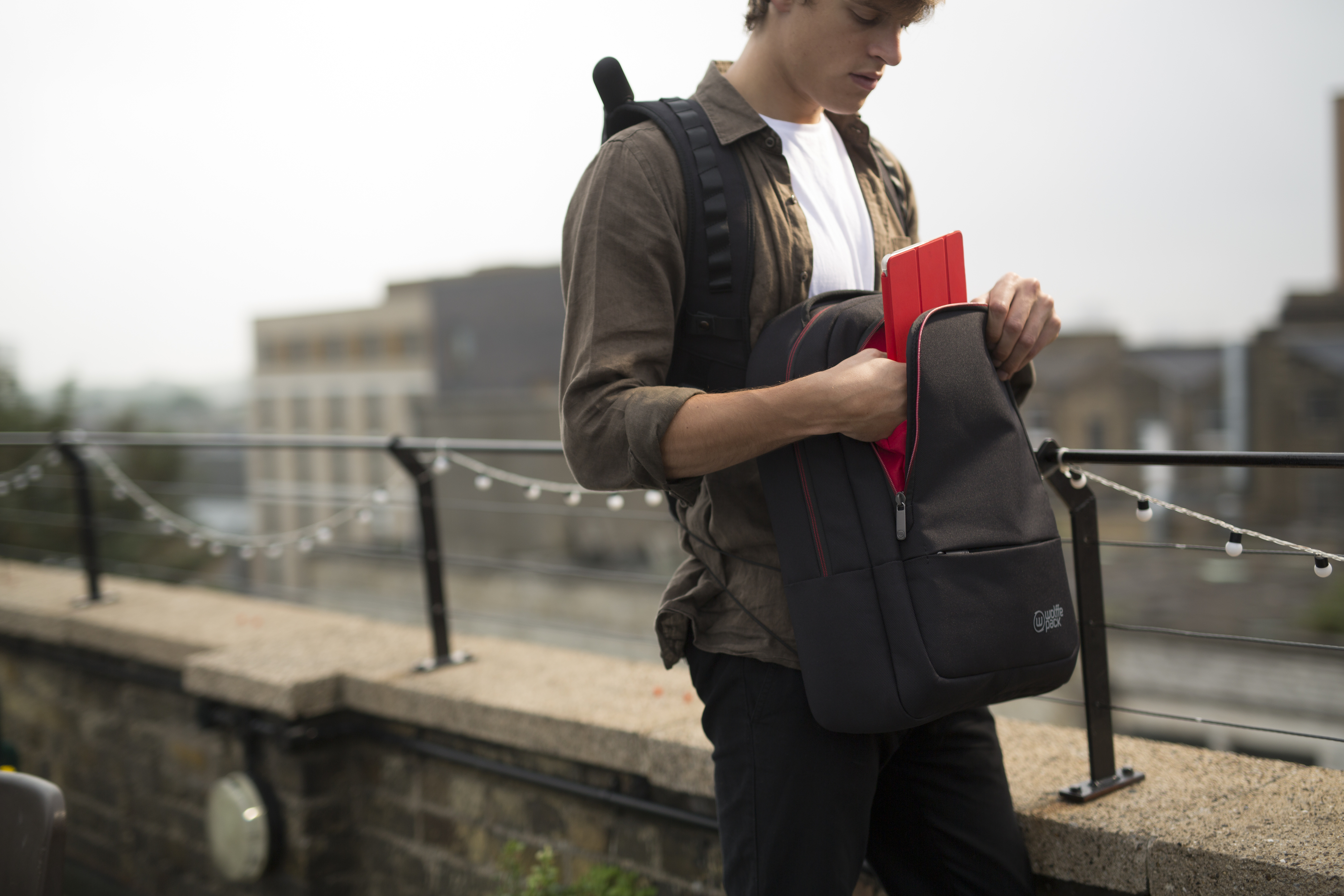 Aiming to do to backpacks what Dyson has done to vacuum cleaners