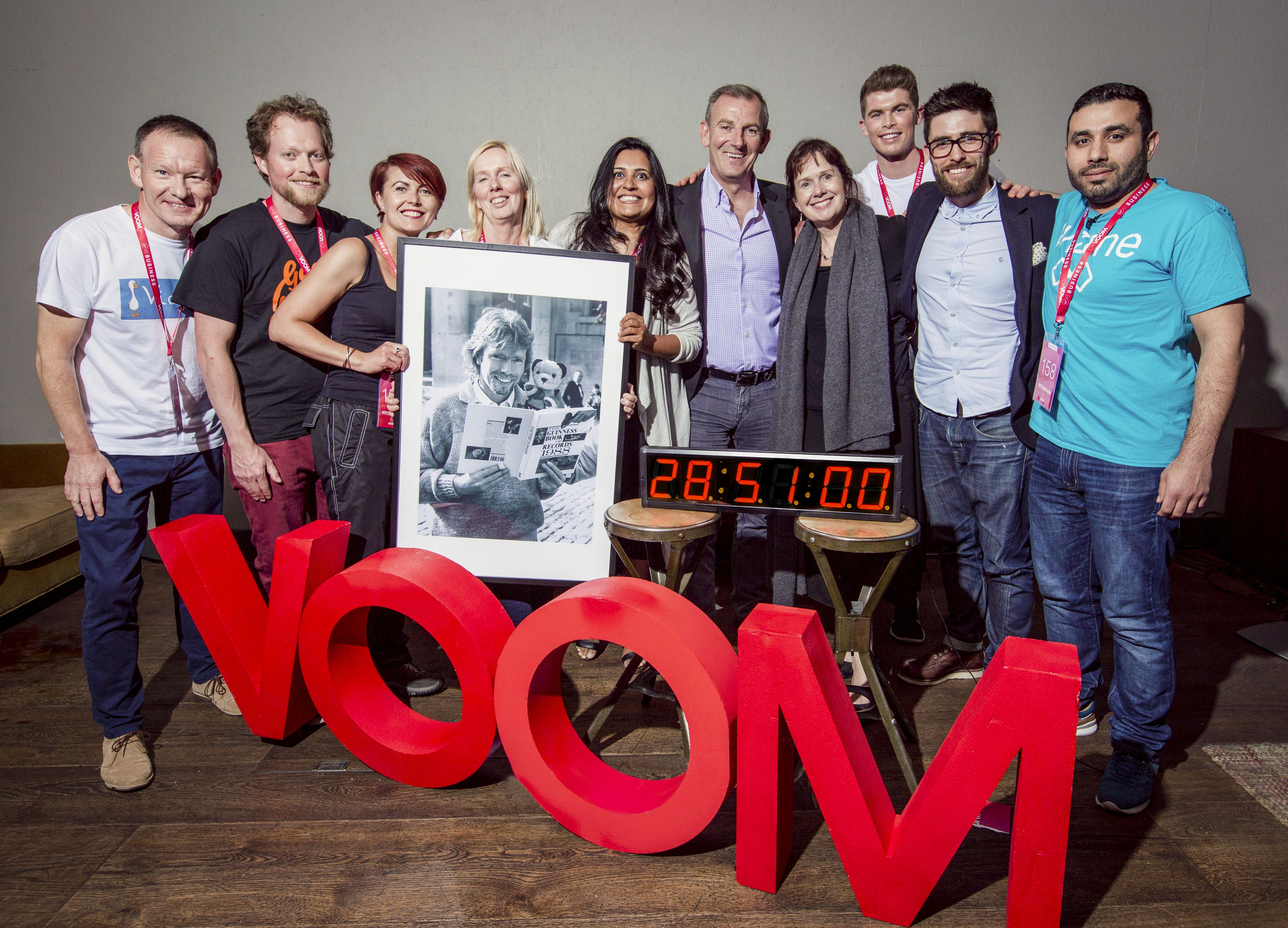 29-hour pitching frenzy results in Guinness World Record for Virgin Media Business