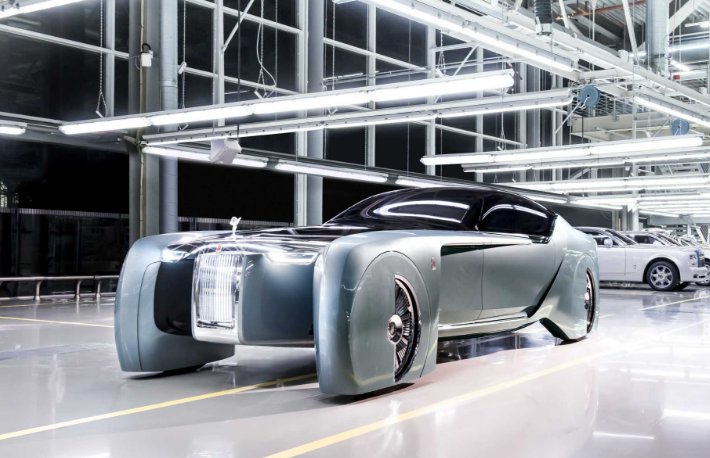 "Need a lift? Rolls-Royce has ""defined the future of luxury mobility"" with concept car"