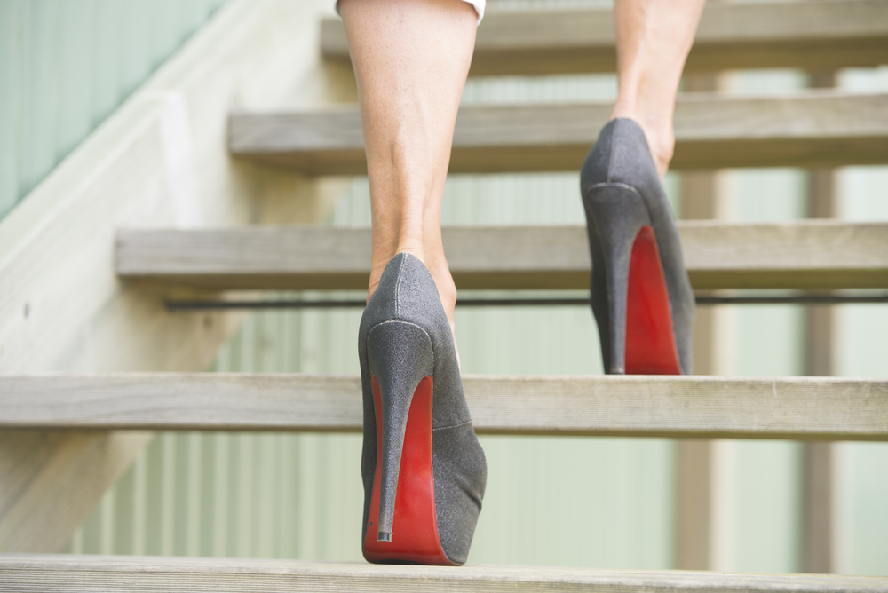 Should women be expected to wear stilettos in the workplace?
