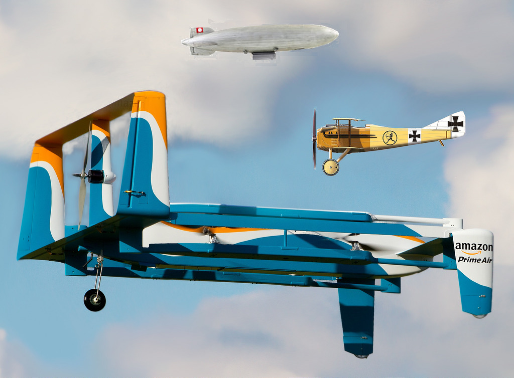 Amazon takes drone delivery to new heights by pairing up with UK government