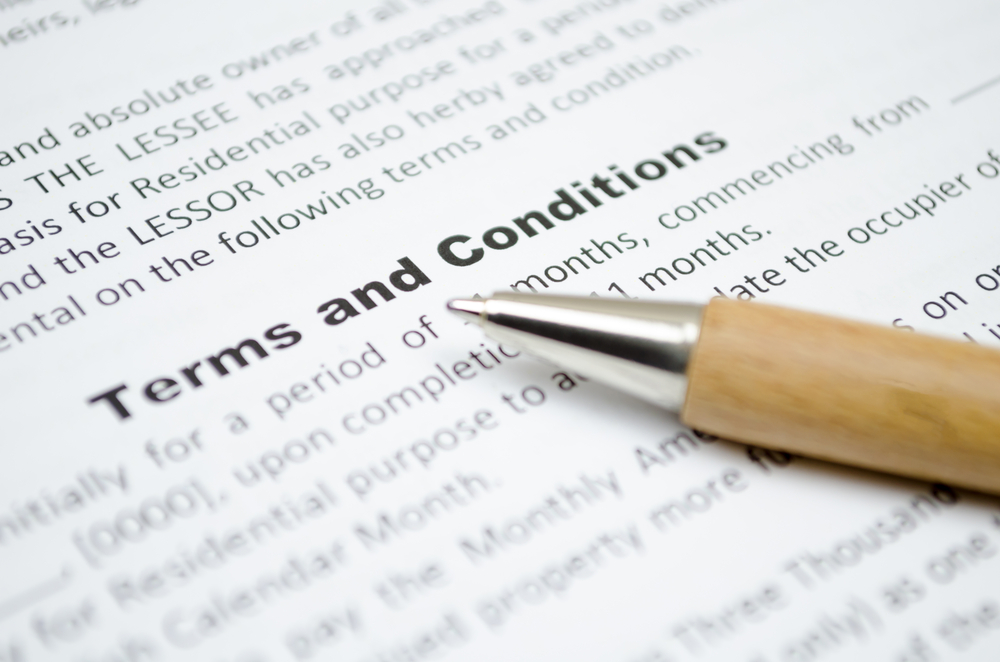 The danger of drafting your own terms and conditions