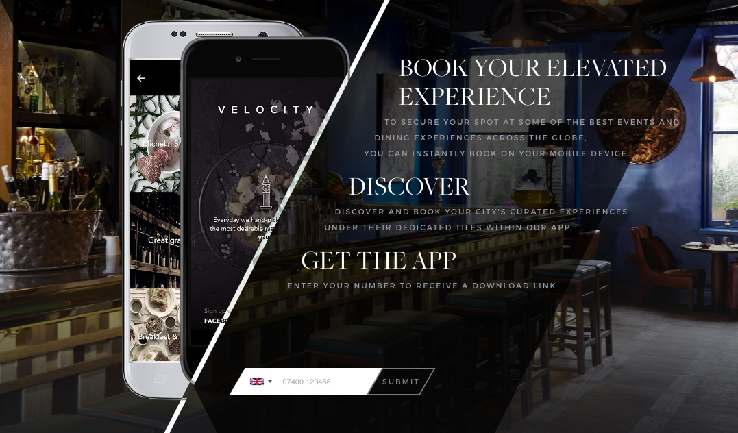 Premium restaurant app Velocity devours $22.5m Series B to expand into 29 cities