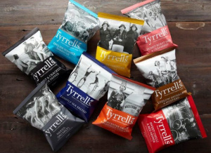 Tyrrells is in hot pursuit of competitor brand Kettel Chips