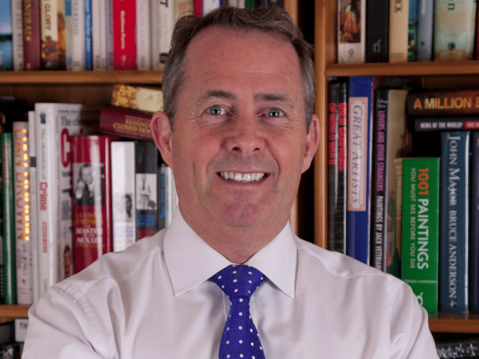 """Liam Fox's """"duty to export words"""" should push UK entrepreneurs into action"""