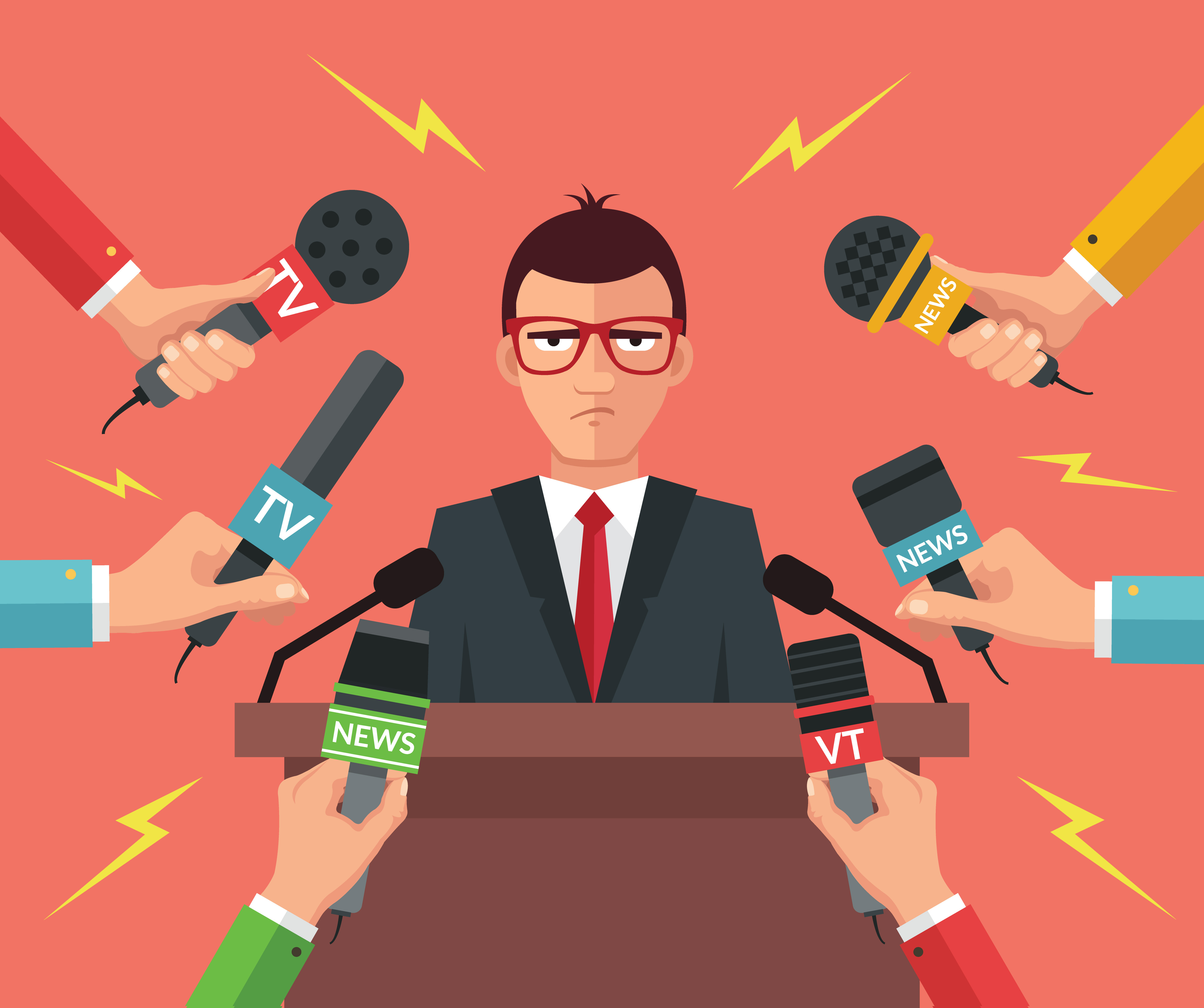 There are three things business leaders shouldn?t do when speaking to the media