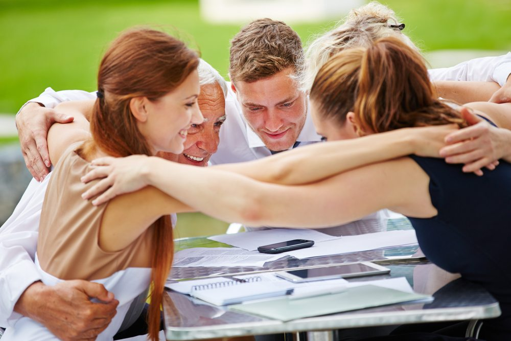 """Tapping into """"hug your boss day"""" is one method of ensuring a happy workplace"""