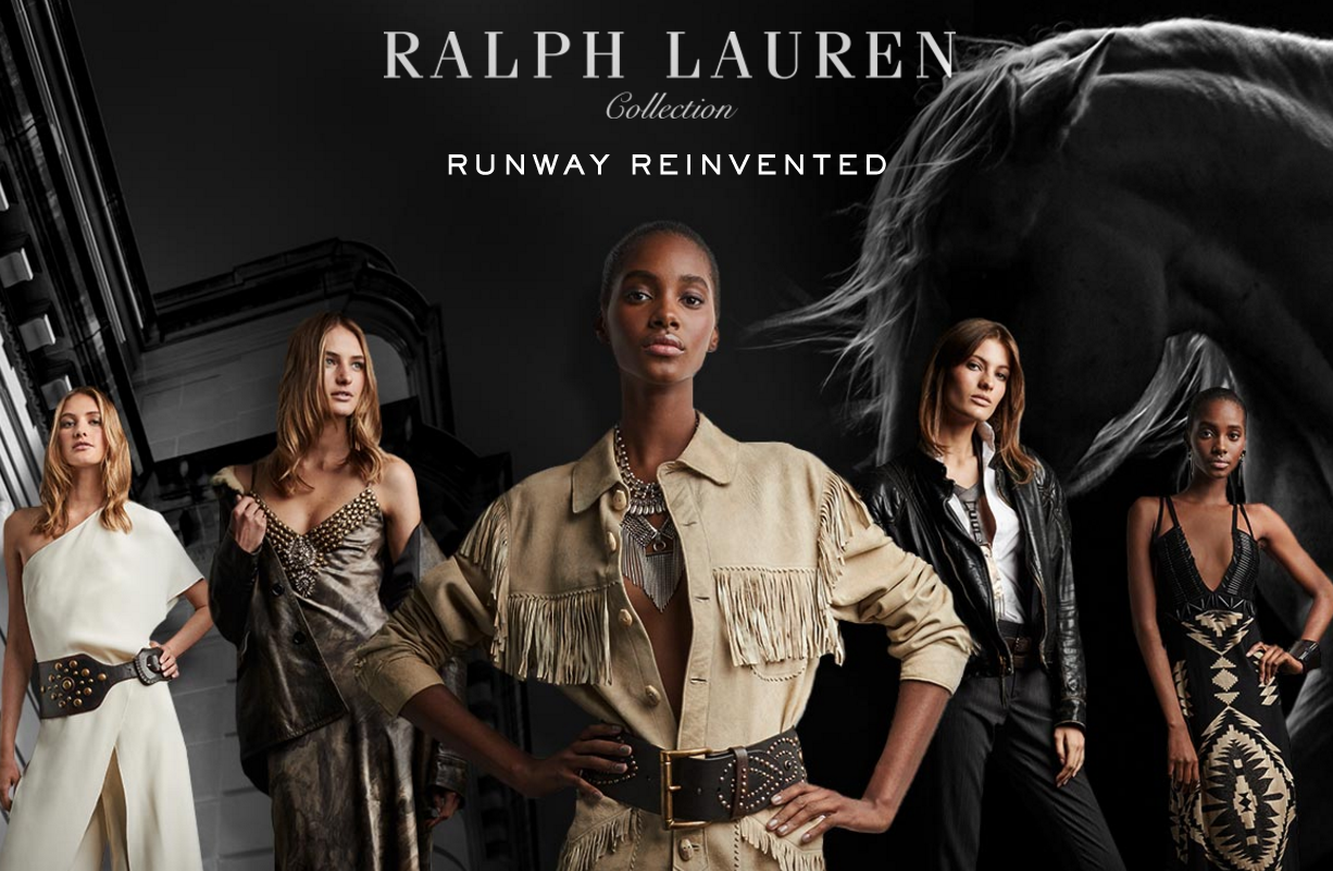 Ralph Lauren took over New York to show new line and simultaneously sold it globally