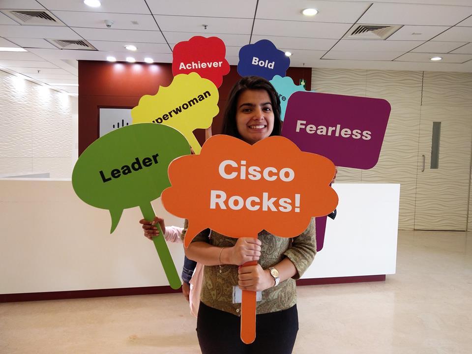 Employer branding Cisco