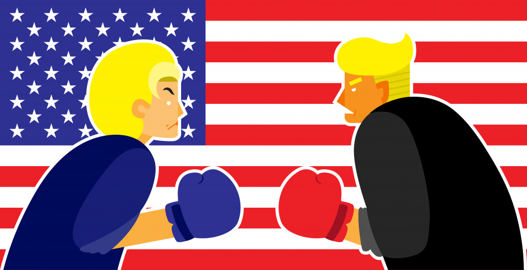 Hillary Clinton Donald Trump St Louis debate