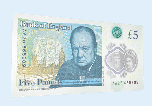 The new polymer £5 note security doesn't go far enough