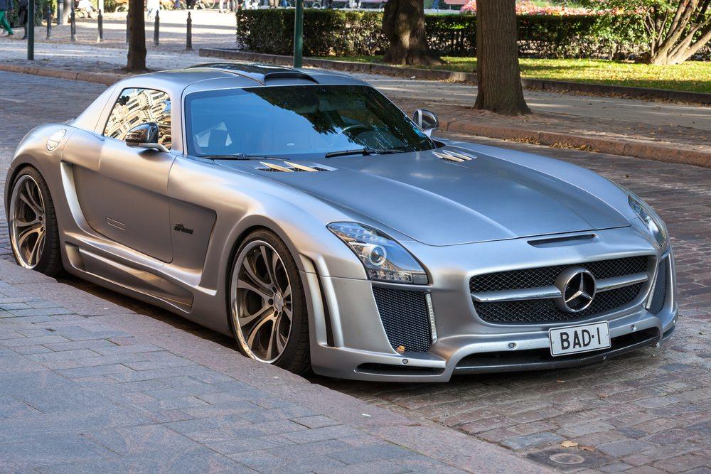 Mercedes-Benz SLS roadster Network Marketing