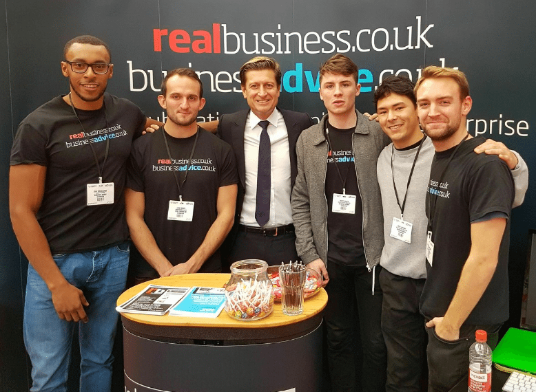 The Business Show Crystal Palace Steve Parish