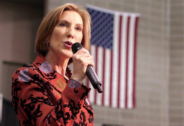 US Election Carly Fiorina