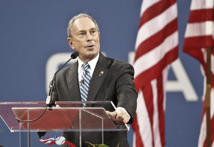 US Election Michael Bloomberg