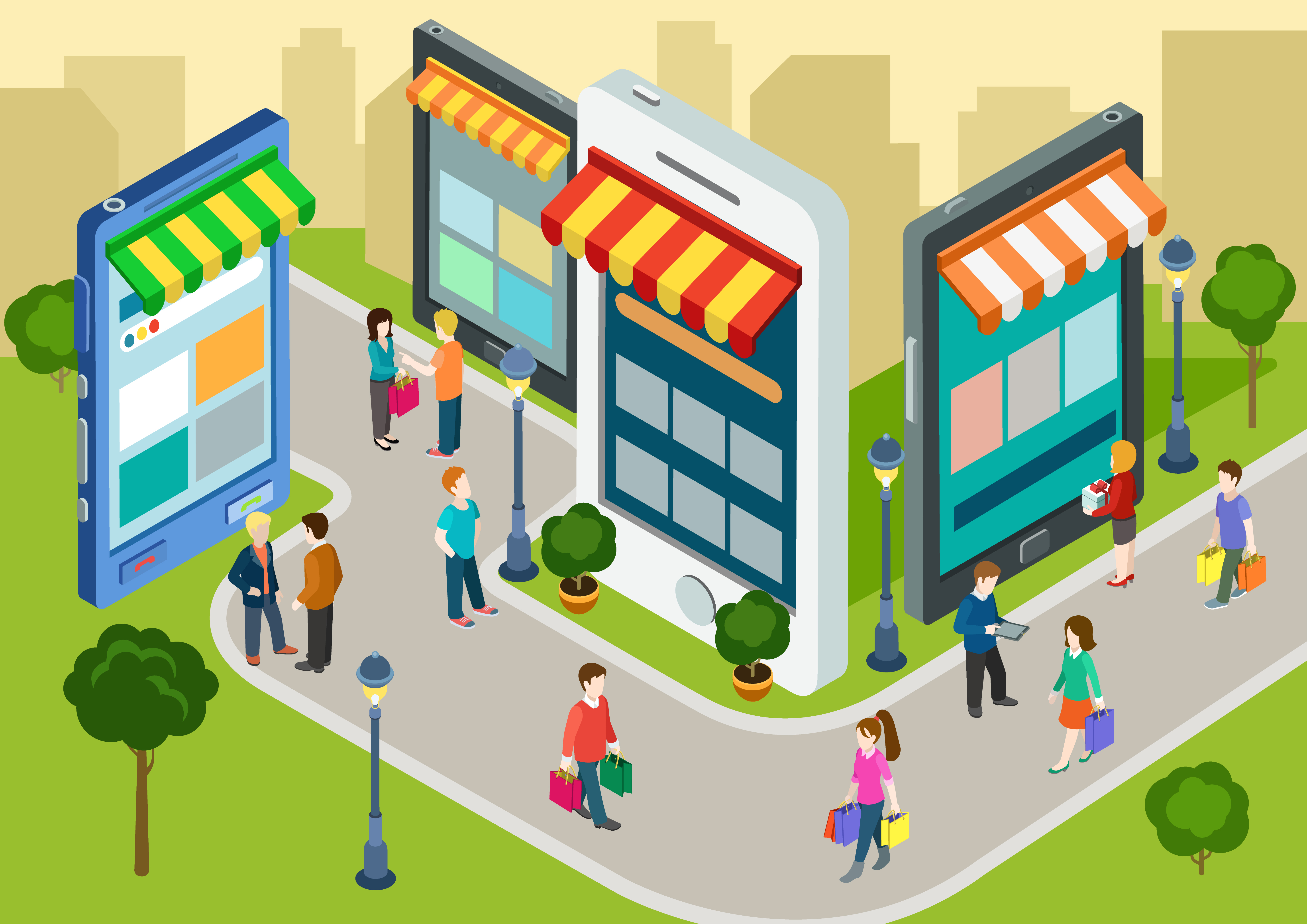 Mobile commerce: Customers want it all and they want it now