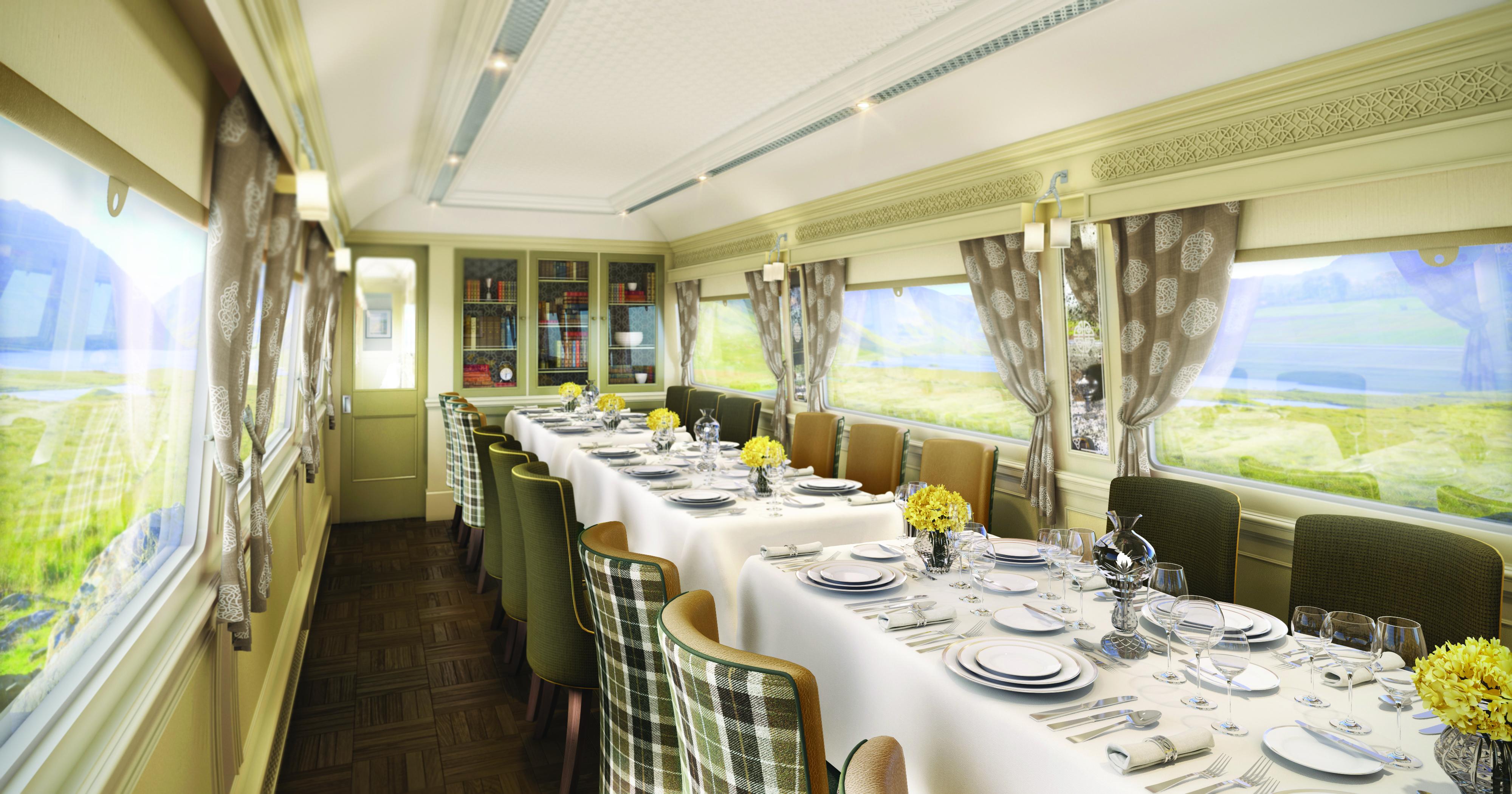 Full steam ahead: All aboard the Belmond Grand Hibernian