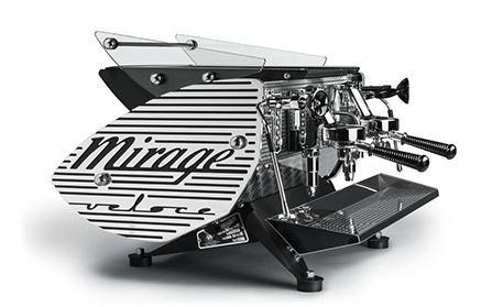 You better have deep pockets if you want the Kees Van Der Westen Mirage espresso machine