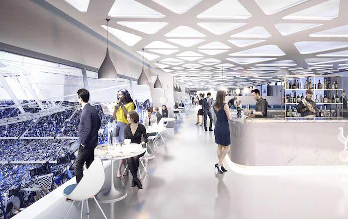 new Tottenham Hotspur stadium