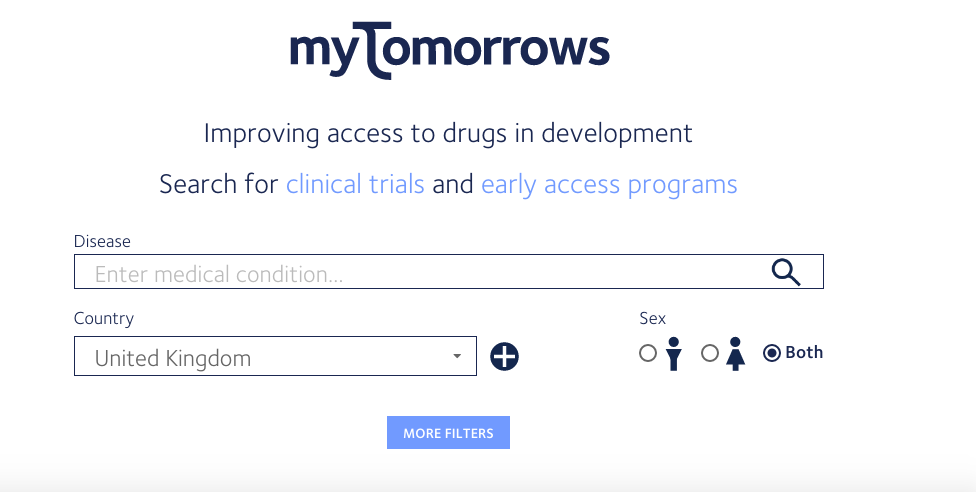 Experimental drugs network injected with ?10m investment