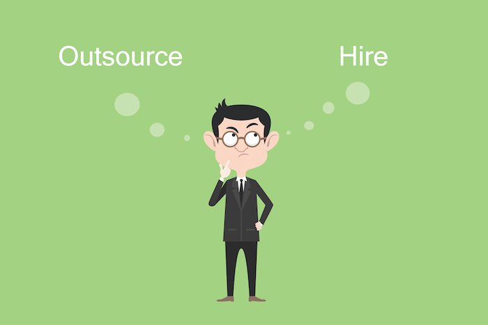 Considerations when outsourcing services