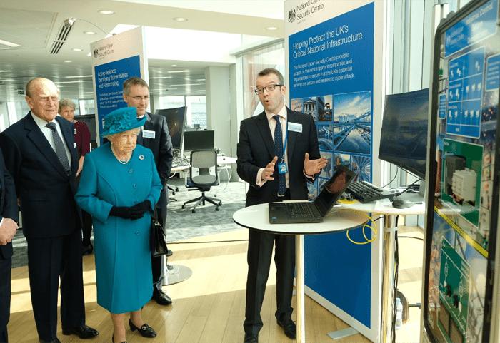 Queen witnesses cyber attack
