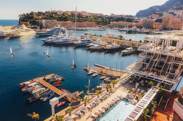 Cities with millionaires Monaco