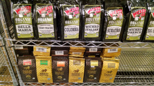 Marley Coffee to be seen on the bottom row