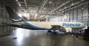 Amazon has its own plane ? called Amazon One