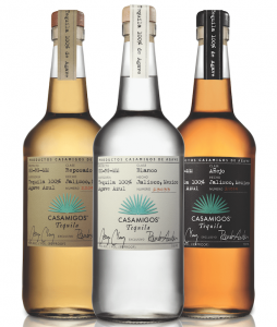 Casamigos George Clooney tequila bottles