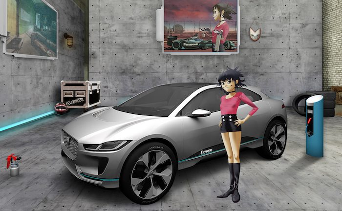 Jaguar Land Rover and Gorillaz band together for virtual recruitment drive