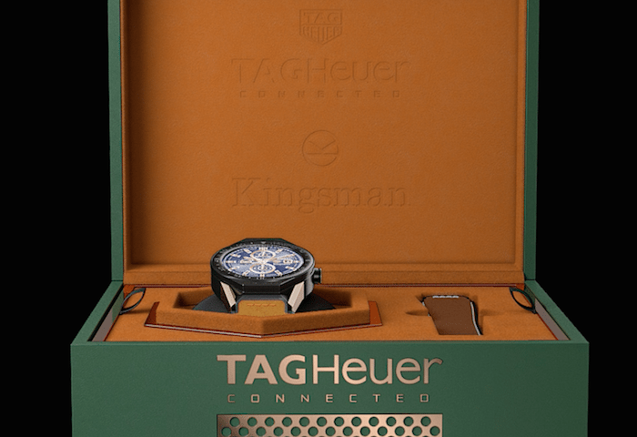 Special edition smartwatch for spy film Kingsman unveiled by TAG Heuer