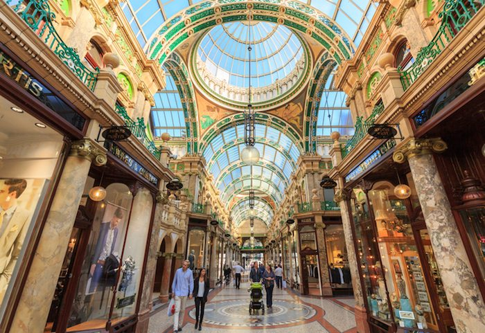 Business in Leeds County Arcade