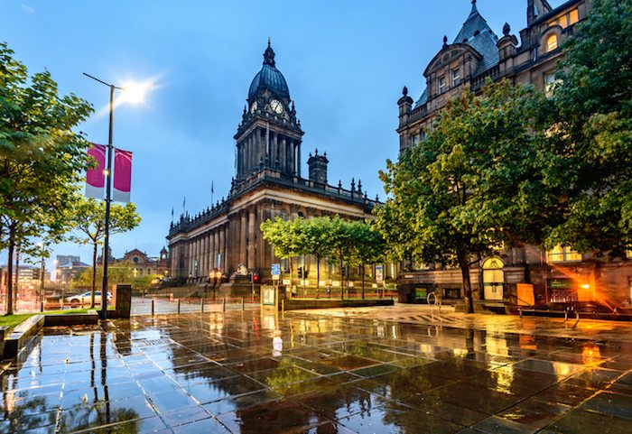 Business in Leeds Town Hall