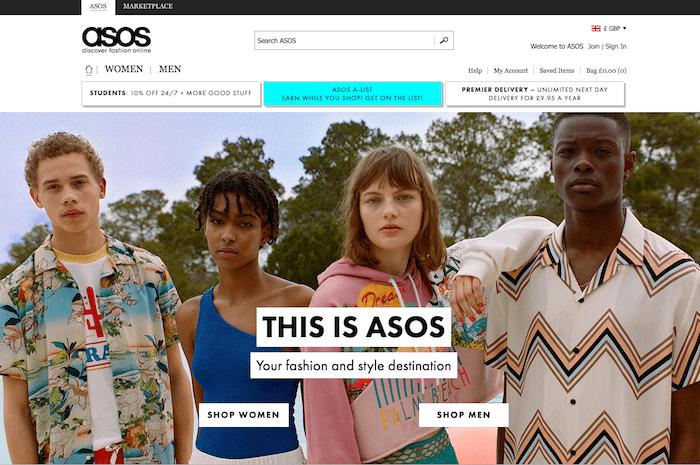 Company name disputes ASOS