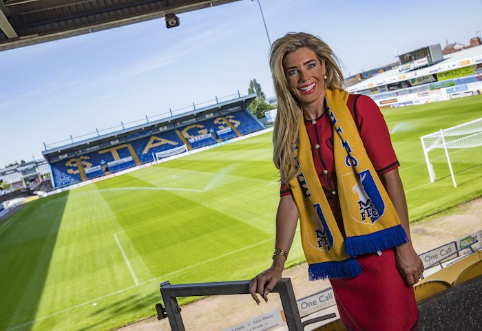 Strength found by Mansfield Town CEO to prove she?s no ?publicity stunt?