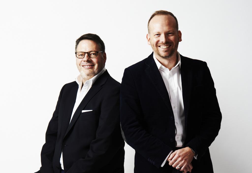 Michael Burne and his co-founder Owain Saunders Jones
