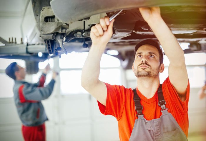 Business fleet maintenance