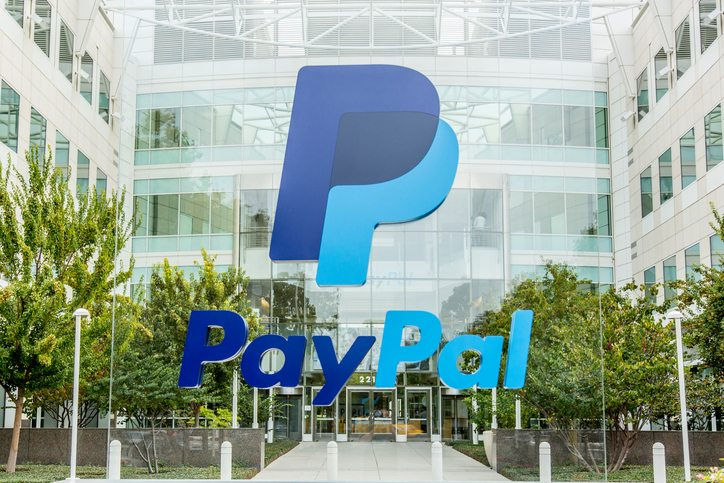 Online payment processor PayPal's race to the top
