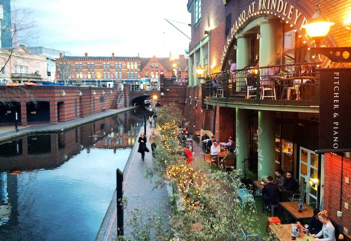 Business in Birmingham Canals