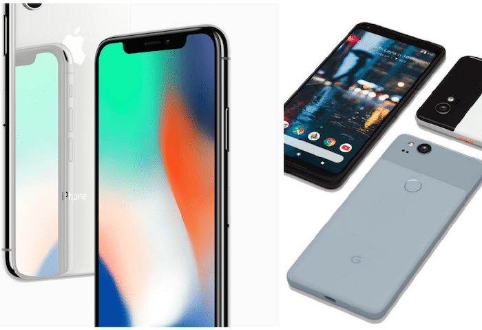 Apple iPhone versus Google Pixel 2: Which launch was best?
