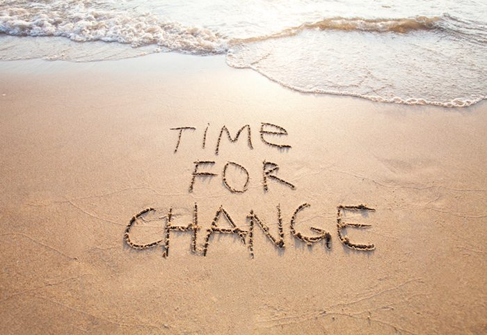 Change is inevitable, but progress is not