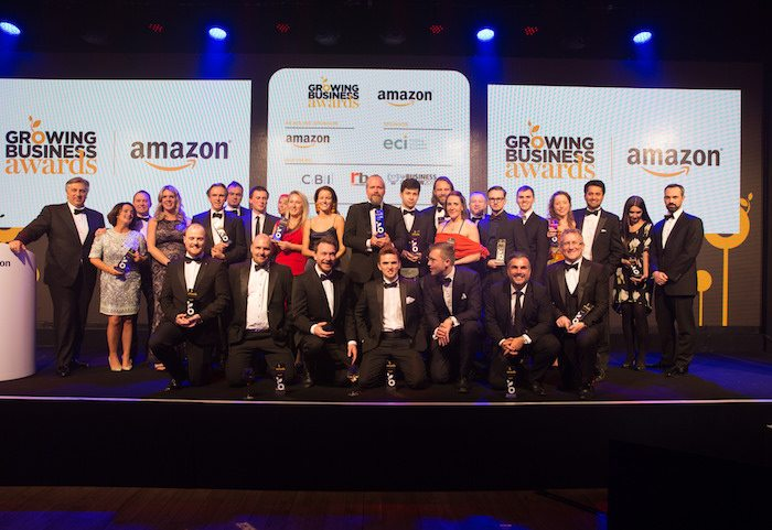 Disruptor brands dominate at Amazon Growing Business Awards 2017