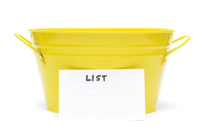Prospective employees Bucket list